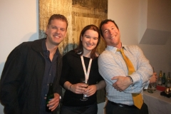 CAN Funds Athlete Relations Meagan Walton with guests Phil Jones and Anthony Miller