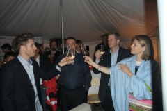 Gold Silver Bronze Party - A Toast to Gold with Francois Louis Tremblay and guests