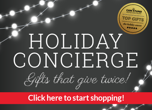 Holiday Concierge homepage button