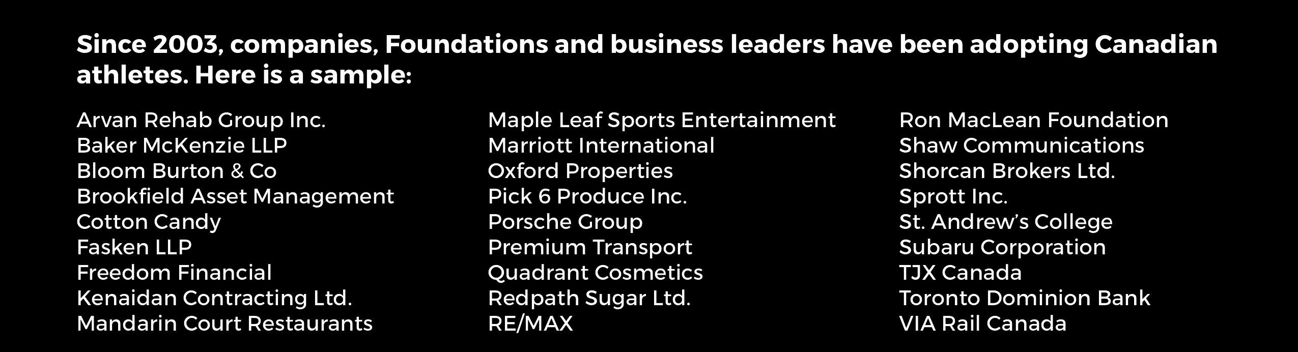 companies NEW