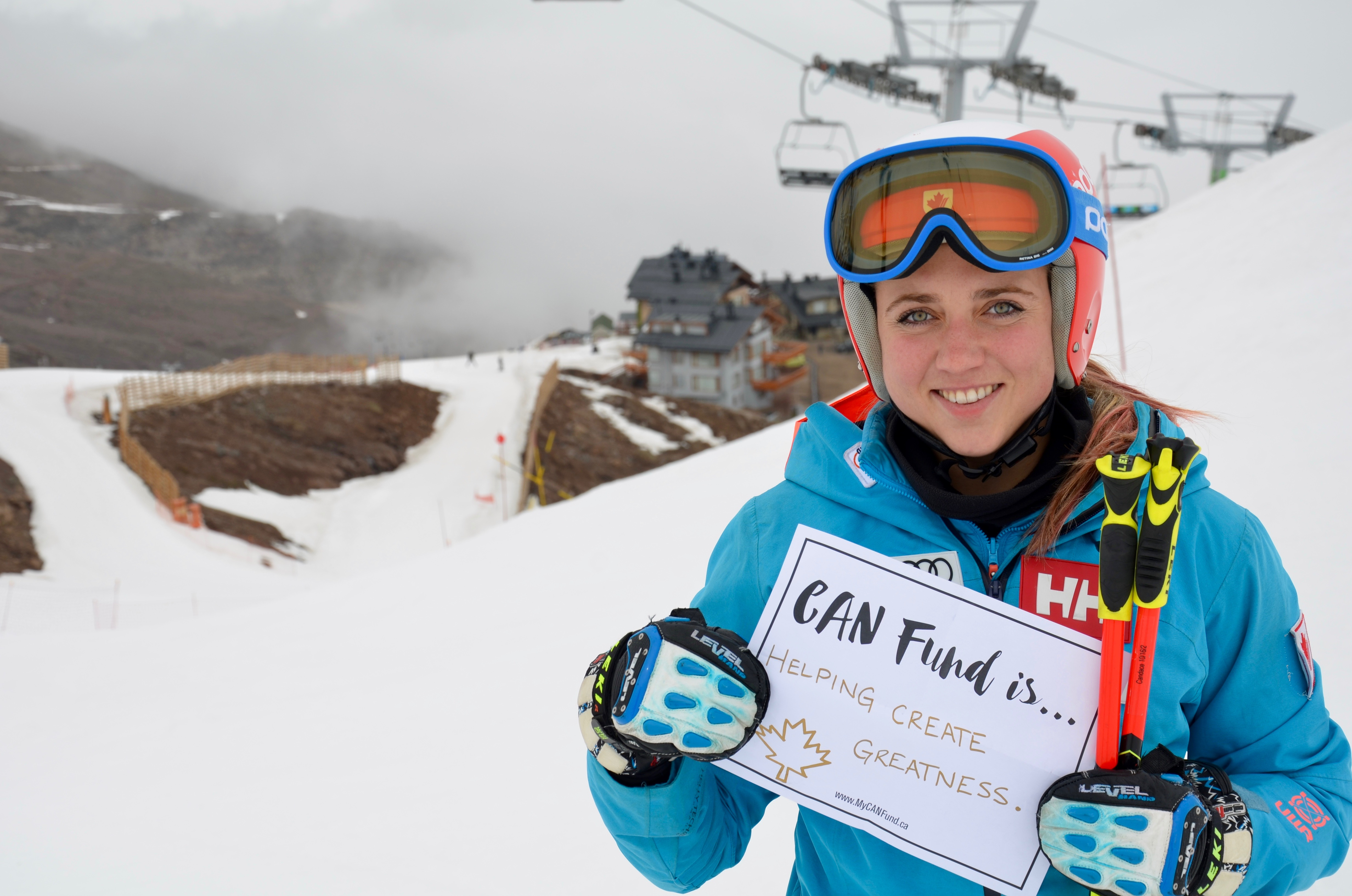 Candace Crawford - Alpine Skiing  - CAN Fund is