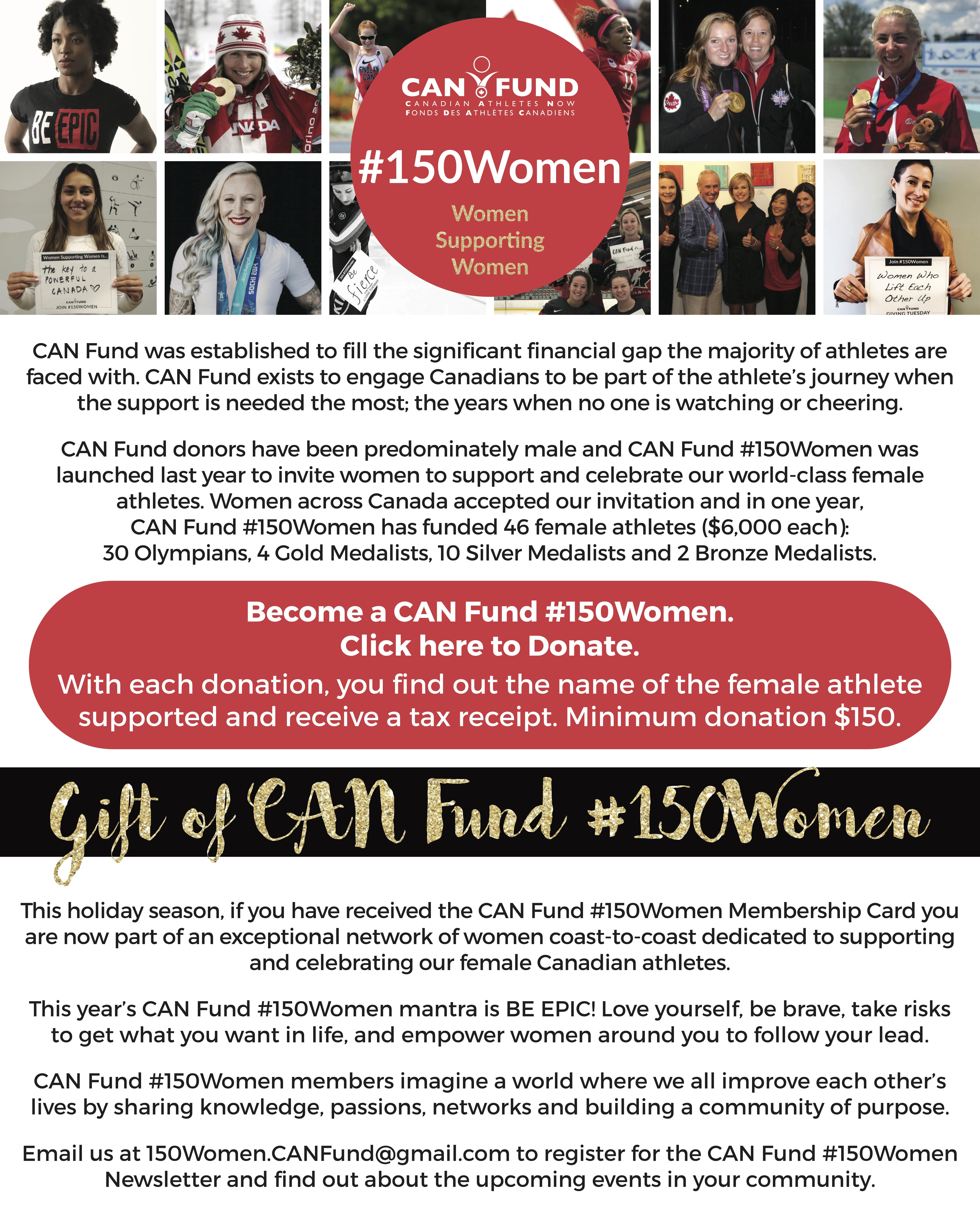 #150Women Website Graphic