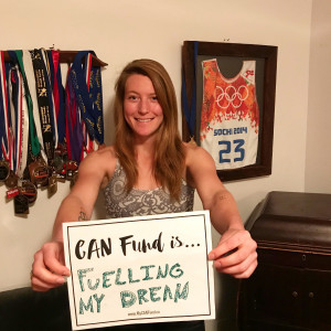 Brittany Phelan - Ski Cross - CAN Fund is